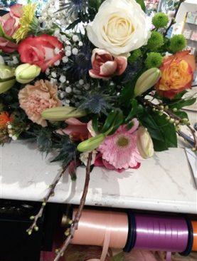 BOEKET 10 : fleurig boeket