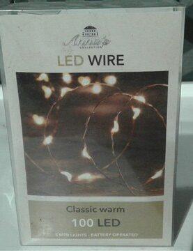 Decoratie lichtjes op batterij 100lichtjes