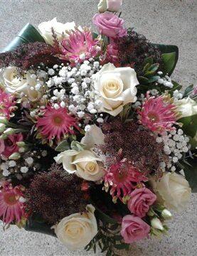 BOEKET 1 : gemengde bloemen